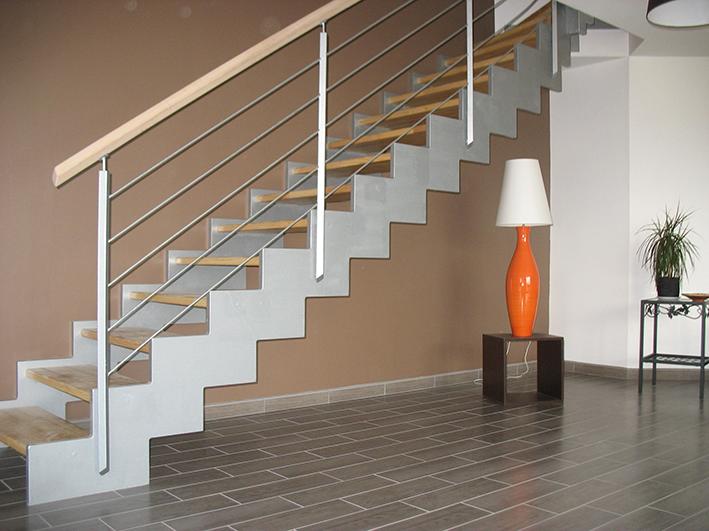 Escalier contemporain 14 - Escaliers Guyot